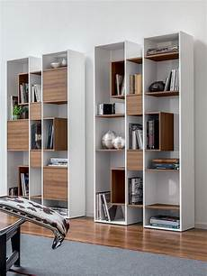 bibliothèque bois blanc abaco 7243 biblioth 232 que tonin casa en bois en