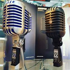 New Shure 55 Pitch Black Limited Edition Microphone