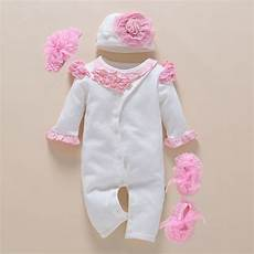 newborn winter clothes 0 3 months baby romper photography headband floral new born