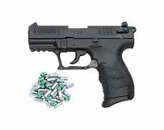 pistolet à blanc pistolet 224 blanc p22q walther noir sd equipements