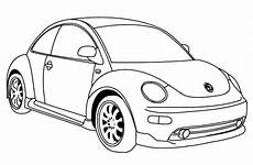 Malvorlagen Autos Vw Version Of Vw Beetle Car Coloring Pages Best