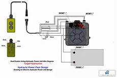 how to wire hydraulic power power unit diagram design