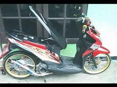 Modifikasi Motor Beat Karbu Simple by Cah Gagah Modifikasi Motor Honda Beat Velg Jari