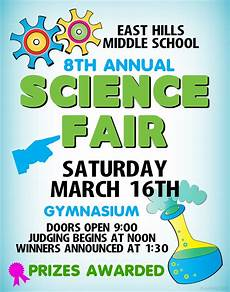 make a science fair project poster ideas middle school science fair school science fair
