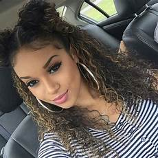 cute curly hairstyle beautiful in 2019 cute curly