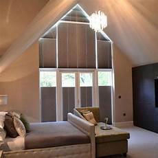 Verdunkelung Für Dreiecksfenster - curtains for triangular shaped windows shaped windows