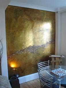 metallic farben wandgestaltung metallic wandfarbe f 252 r ein luxuri 246 ses ambiente in ihrer