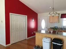 choosing bedroom colors red accent wall in living room