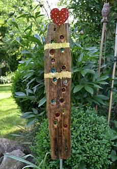 Stehle Weiß Holz - gartenkugeln stelen treibholz gartenstele ein