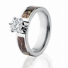 official licensed realtree ap engagement camo bands 1ct cz