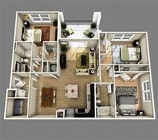 25 three bedroom houseapartment floor ufufigigkviv apartment floor plans 3d house plans