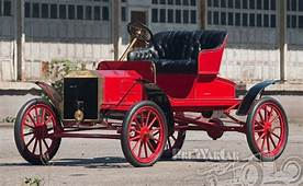 Photo 1906 Ford Model N A  1903 To 1907 Passenger