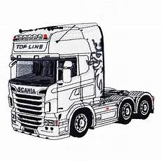 scania free coloring pages sketch coloring page