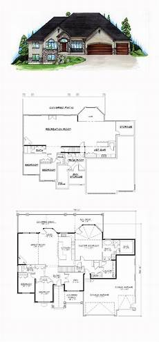 house plans walkout basement hillside 49 best hillside home plans images on pinterest house