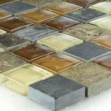 naturstein glas mosaik fliese beige ht88437m