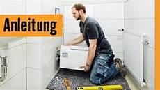 stand wc montieren wand wc austauschen hornbach meisterschmiede