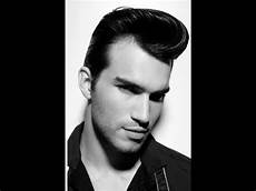 how to retro side part hair tutorial featuring johnny b styling gel youtube