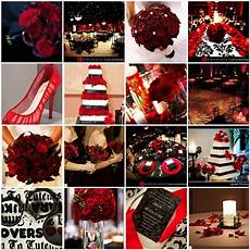 black and red wedding dress life is a gift