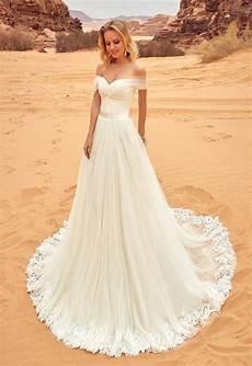Shoulder Wedding Gowns