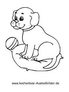 ausmalbilder kostenlos tiere hunde ausmalbild hund welpe zum ausdrucken