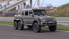 Mercedes G63 Amg 6x6 Racing On The Track