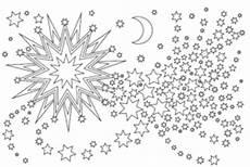 Malvorlagen Sternenhimmel Weihnachtssterne Ausmalbilder Sterne Zu Weihnachten Ausdrucken