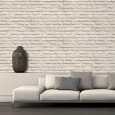 papier peint mur en neuf effet brique faux r 233 aliste mur de motif photo