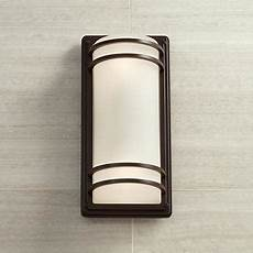habitat collection 16quot high indoor outdoor wall light 9c037 wall lights led bathroom