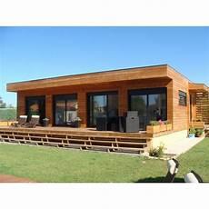 maison kit prix maison bois design contemporain galaxy 80 m2