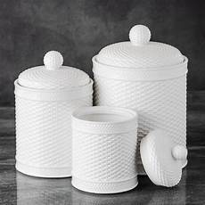 white kitchen canister set basket weave canister set kitchen counter accessory home