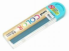 alublech 0 5 mm uni color erasable pencil lead 0 5 mm mint blue ebay