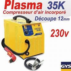 decoupeur plasma gys d 233 coupeur plasma cutter 35 k pfc gys