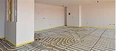 poser un plancher chauffant électrique installer un plancher chauffant 233 lectrique