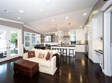 Ideas For Kitchen And Family Room by Hgtv Photo Gallery Open Concept Kitchen And Family Room