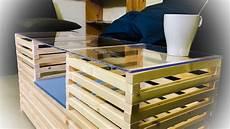 comment r 233 aliser une table basse avec des tasseaux de bois