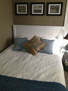 style decor much more finished bed mission style headboard makeover with bead