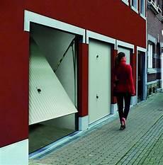 Porte De Garage Basculante Debordante Sans Rail Tubauto