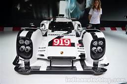 Porsche 919 Hybrid Unveiled  Geneva Live