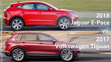 dimensions of jaguar f pace 2018 2018 jaguar e pace vs 2017 volkswagen tiguan technical