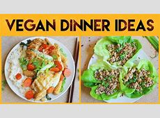 EASY VEGAN DINNER IDEAS (F***ING DELICIOUS in under 30
