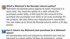 walmart exchange policy without receipt watch out for walmart s return policy hackettstown nj