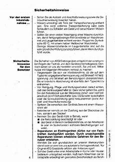 Bedienungsanleitung Aeg Electrolux Lavamat 6000 Seite 3