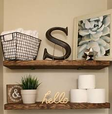 bathroom shelf decorating ideas diy faux floating shelves suite