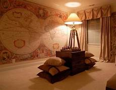 Antique Vintage Map Wall Murals And Antique Vintage