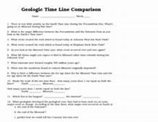 geological time line comparison earth and missouri 8th
