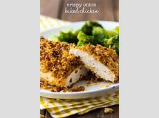 crispy baked onion chicken_image