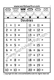 addition doubles free printable worksheets worksheetfun
