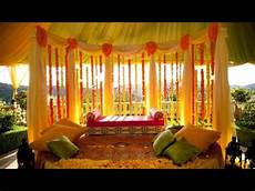 indian wedding decoration at home youtube