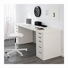 lade per scrivania linnmon tafelblad wit bo ikea werkkamer wit en