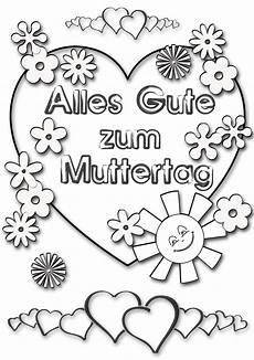 Ausmalbild Blumen Herz Ausmalbild Herz Zum Muttertag Kostenlos Speichern Und